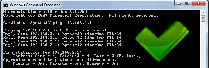 how to connect to an ip address