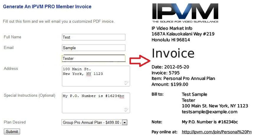 free billing invoice