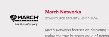 March through Scansource
