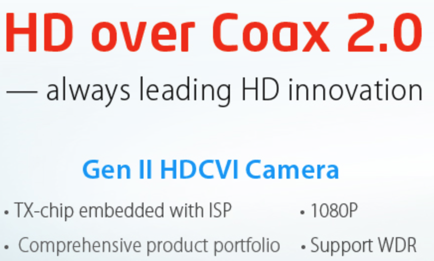 HD over Coax 2.0