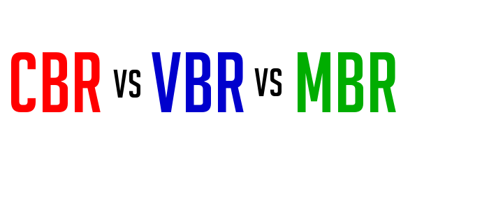 CBR vs VBR vs MBR - Surveillance Streaming