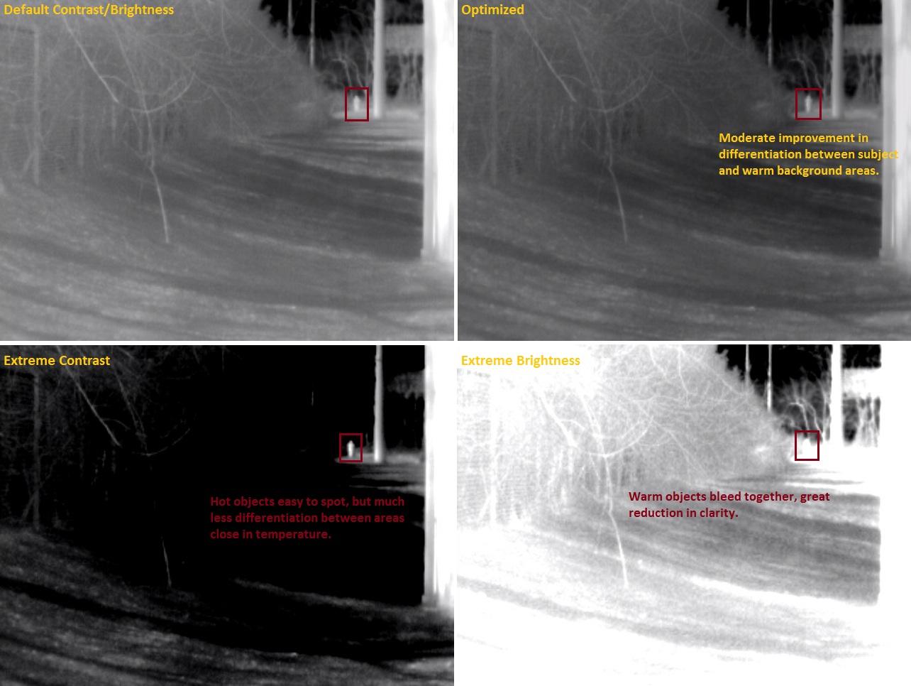 DRS Image Adjustment Comparison