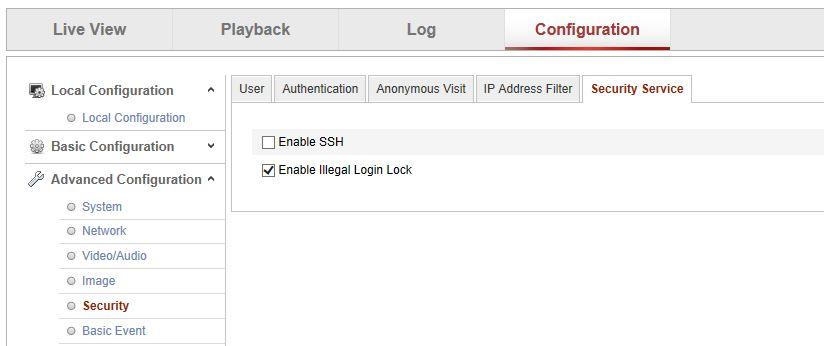 Illegal Logins On Hikvision NVR?