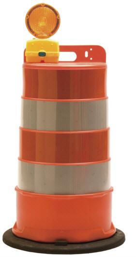 Traffic Barrel Camera Enclosure