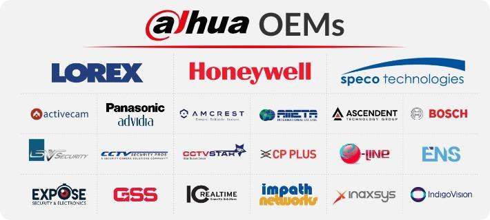 Dahua OEM Directory