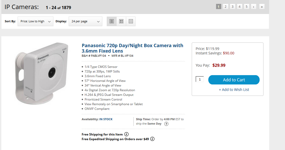 $30 camera
