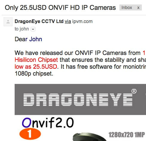 List Of Manufacturers Faking ONVIF Conformance
