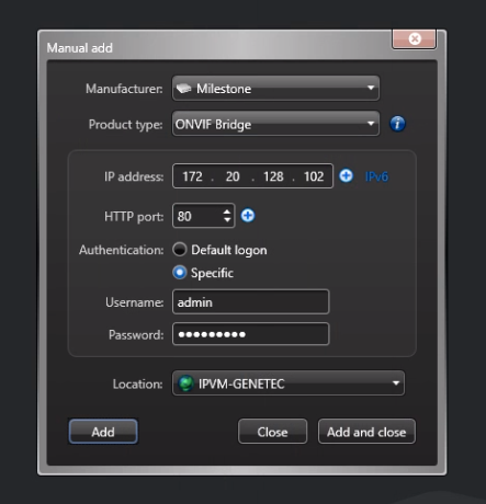Adding RTSP Streams To Genetec Security Center