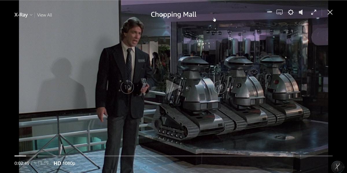 Chopper Mall Security Robot