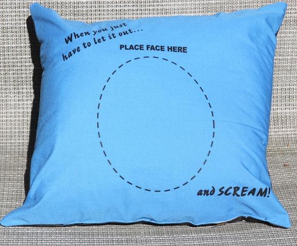 Scream into Pillow
