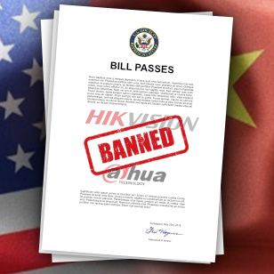 Ban of Dahua and Hikvision Is Now US Gov Law
