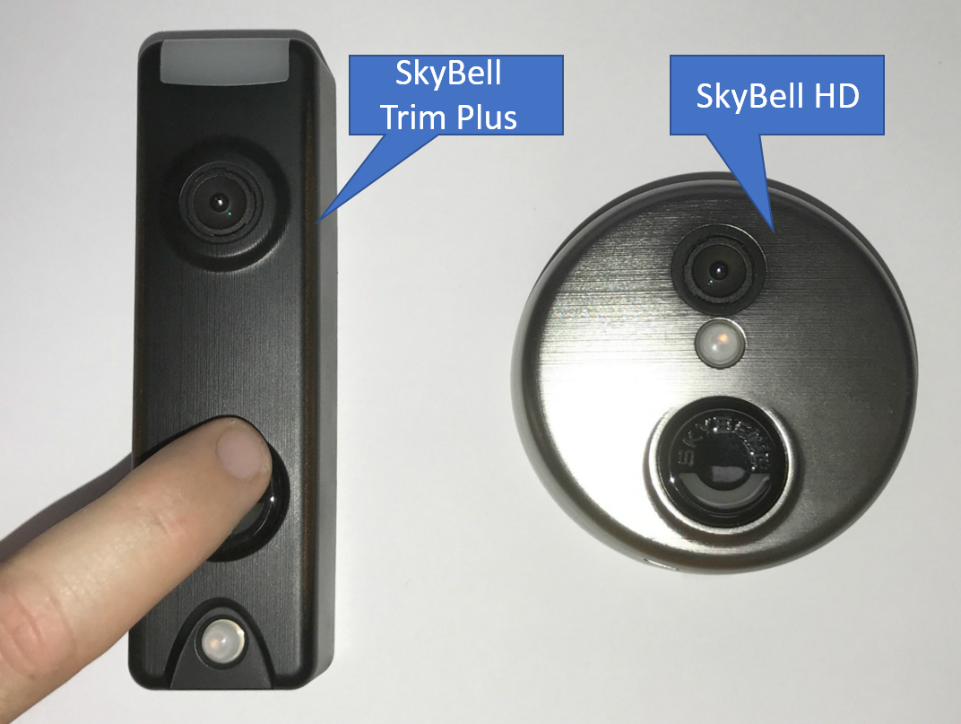 SkyBell Trim & Slim Models Tested