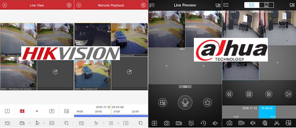 Hikvision vs Dahua Mobile Apps Tested