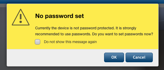 most common default admin passwords