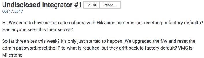 Hikvision Http Commands