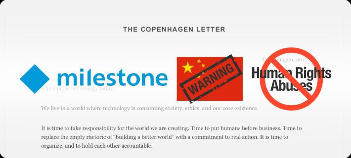copenhagen milestone anti-china