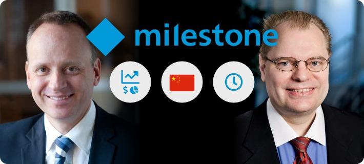 milestone execs on financials china and the future