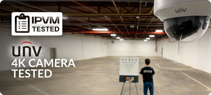 Uniview 4K Camera Tested