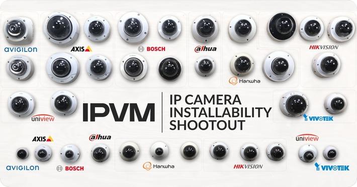 IP Camera Installability Shootout 2019 - Avigilon, Axis, Bosch, Dahua, Hanwha, Hikvision, Uniview, Vivotek