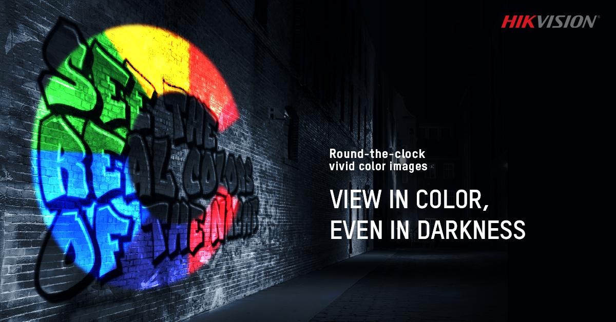 Hikvision ColorVu Camera