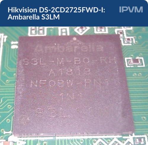 Hikvision DS-2CD2725FWD-I Ambarella S3LM