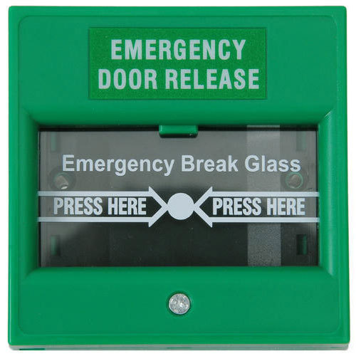 Green Emergency Door Releaser