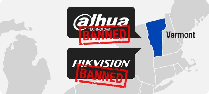 us state vermont bans dahua hikvision 2