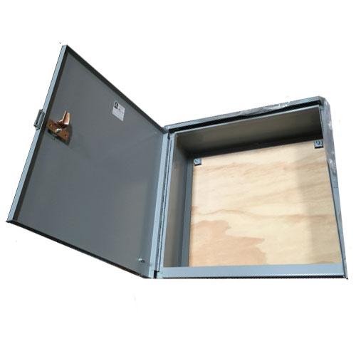 Image result for hoffman enclosure wood backboard