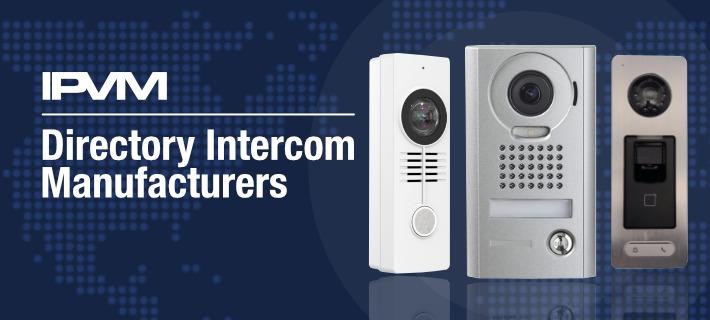 directory intercom manufacturers