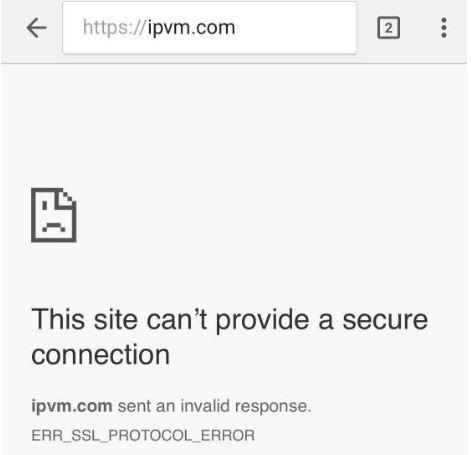 Chinese Government Blocks IPVM