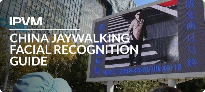 China Jaywalking Facial Recognition Guide