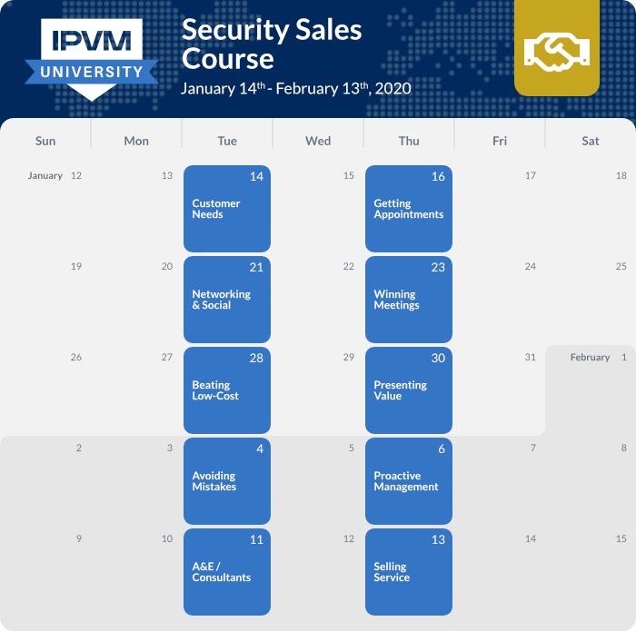 schedule - security sales - 2020 winter