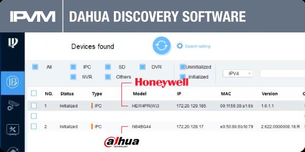 dahua discovery software