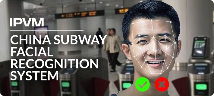 China Subway Facial Recognition System