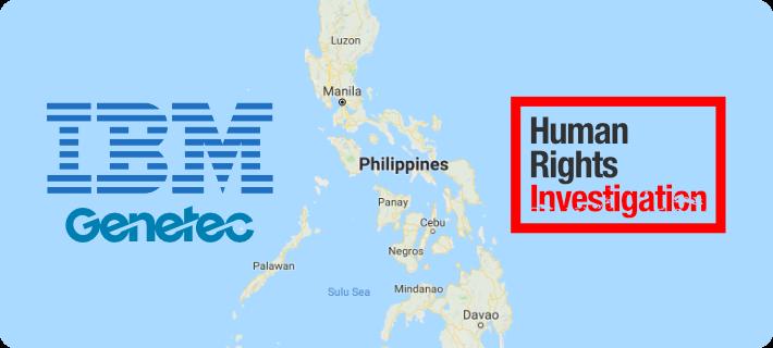 ibm genetec philipines human rights abuses