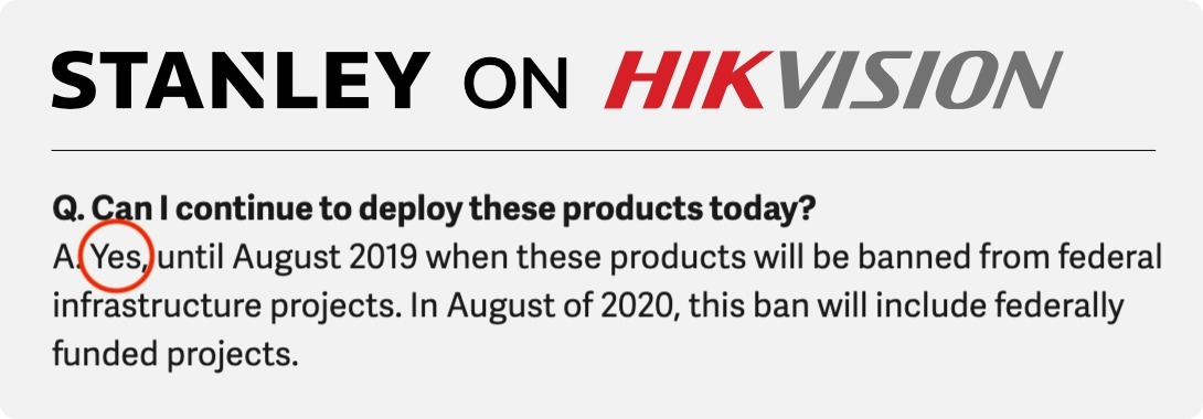 stanley hikvision quote 2