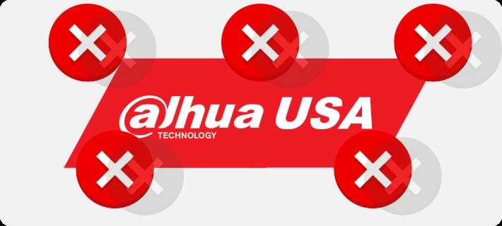 Dahua USA errors1