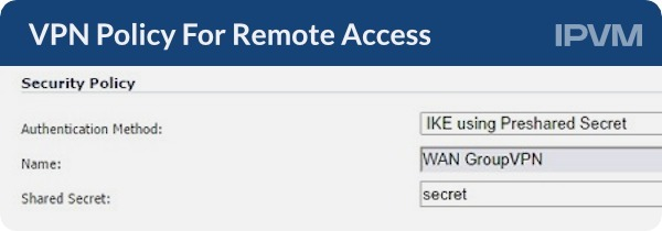 VPN Policy For Remote Access