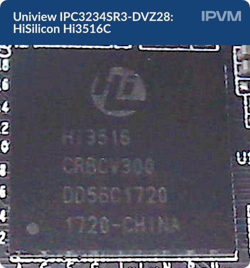 Uniview IPC3234SR3-DVZ28 HiSilicon Hi3516C