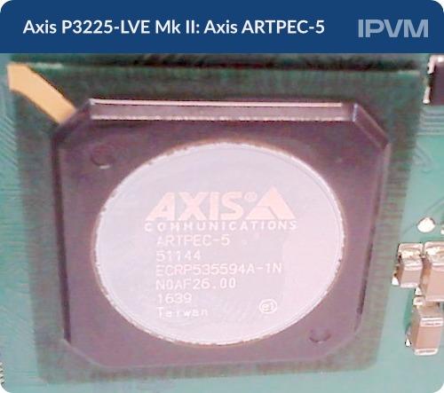 Axis P3225-LVE Mk II Axis ARTPEC-5