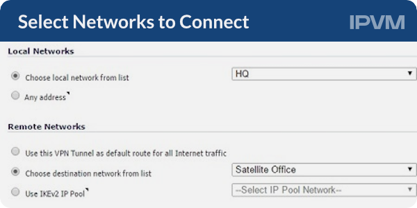 Select Networks to Connect