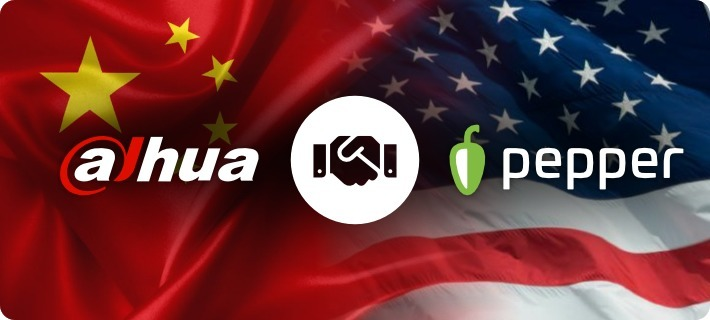 dahua pepper partnership