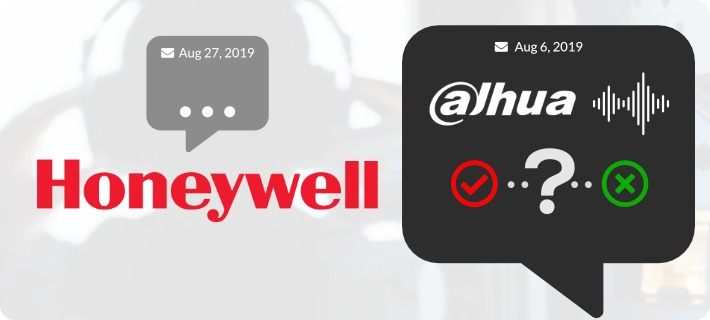 Honeywell Still Cannot Say Whether They Are Vulnerable To Dahua Wiretapping