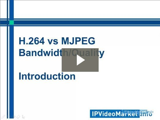 H 264 vs MJPEG - Quality and Bandwidth Tested