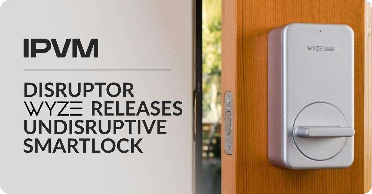 Disruptor Wyze Releases Undisruptive Smartlock