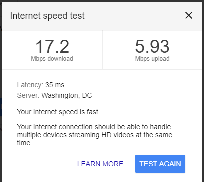 Class 3 Assignment Test The Speed Of Your Internet Connection