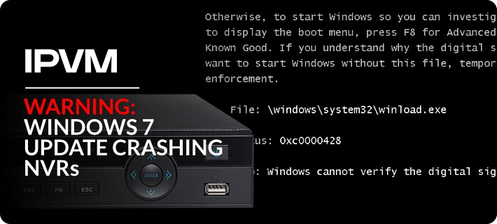 Windows 7 Update Crashing NVRs