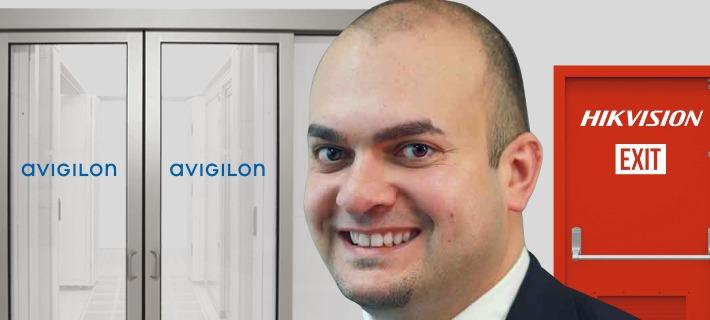 exit hikvision joins avigilon