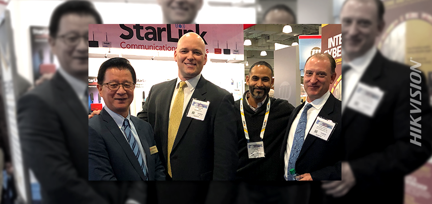 Hikvision's ISC East Exhibit Booth Bustling with Customer Meetings and Partner Activity
