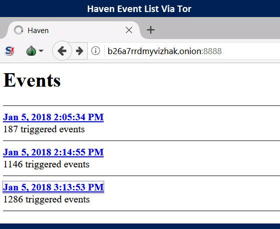 Improved Edward Snowden Haven App Test Results